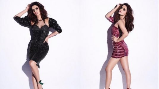 Manushi Chhillar is a sizzling diva in these sexy pictures from new photoshoot
